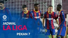 Jadwal Liga Spanyol Pekan 7, Barcelona Hadapi Real Madrid