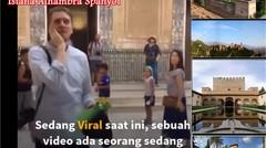 Viral -  Azan di Istana Alhambra Granada Spanyol, Rindu Azan 500 Tahun
