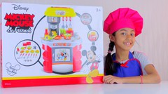 Unboxing Mainan Anak Masak-Masakan Kitchen Set Disney Mickey & Friends