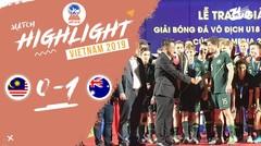 Full Highlight Final - Malaysia 0 VS 1 Australia   Piala AFF U-18 2019