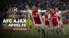 Full Highlight - AFC Ajax VS Apoel FC | UEFA Champions League 2019/2020