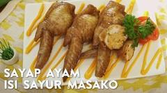 Resep Sayap Ayam Isi Sayur Masako - Mudah & Murah #65