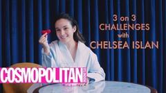 Chelsea Islan Bermain 3 ON 3 Challenges Bareng Cosmopolitan Indonesia!