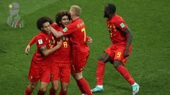 Cuplikan Pertandingan Brasil vs Belgia - Piala Dunia 2018 Rusia Dokter Bola