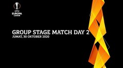 Europa League Group Stage | Matchday 02, 30 Oktober 2020