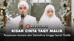 Fakta kisah cinta Taqy Malik, dari Salmafina hingga Serrel Thalib