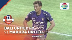Highlights - Bali United 3 vs 1 Madura United | Shopee Liga 1 2020