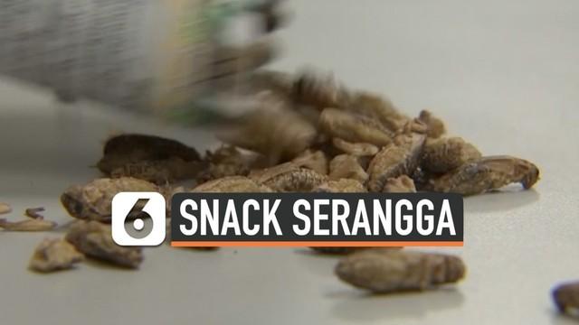 Tiap Bulannya, Perusahaan Ini Raup Miliaran Rupiah dari Snack Serangga