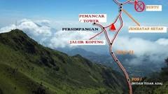 Gunung Merbabu (3.142 Mdpl)