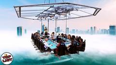 Makan di Atas Langit!, 5 Restoran Paling Gokil di Dunia