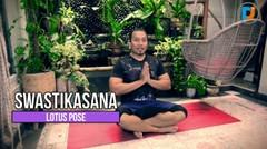 Yuk, LAKUKAN YOGA DI RUMAH! - Mudah dan Sederhana | Lotus Pose #TeNaGaMOA