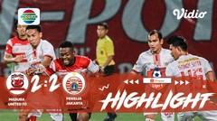 Full highlight - Madura United FC 2 vs 2 Persija | Shopee Liga 1 2019/2020
