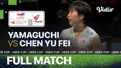 Full Match   Jepang vs China   Akane Yamaguchi  vs Chen Yu Fei   Thomas & Uber Cup 2020