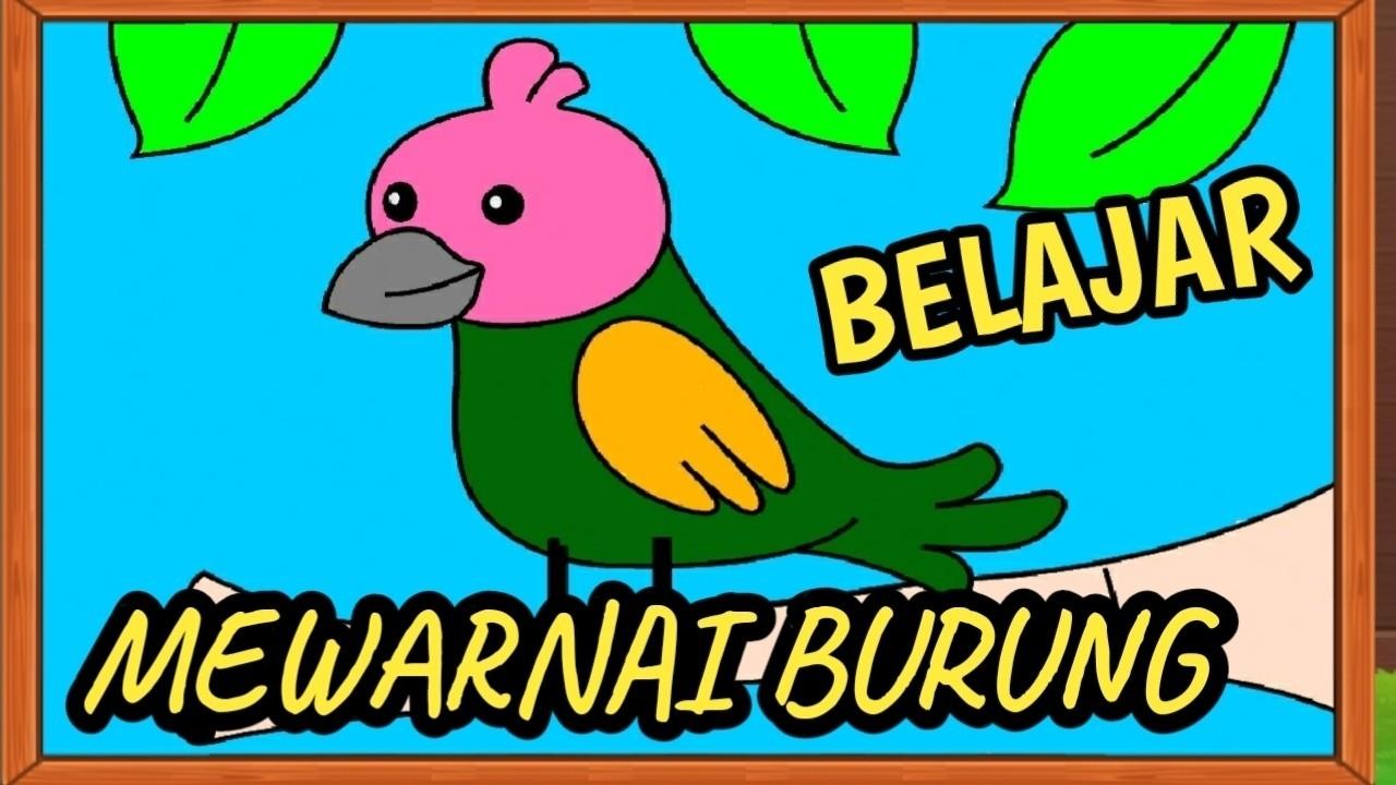 Mewarnai Burung Garuda Untuk Anak Tk