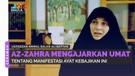 Az-Zahra Mengajarkan Umat Tentang Manifestasi Ayat Kebajikan Ini