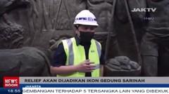 Relief Cagar Budaya Ditemukan Di Gd Sarinah