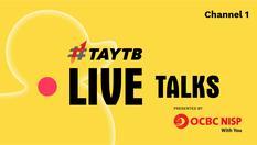 Live Stream Fest 2020 - Talks 1   Minggu, 5 APR 2020   10:00 WIB