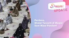 Perdana, Sholat Tarawih di Masjid Saat Masa Pandemi