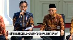 Ini Pesan Presiden Jokowi untuk Para Menterinya - AAS News TV