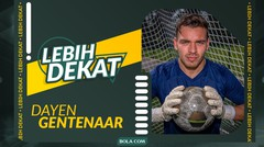 Lebih Dekat dengan Dayen Gentenaar, Anak Eks Kiper Borussia Dortmund yang Ingin Bela Timnas Indonesia