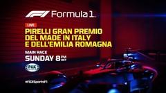 Pirelli Gran Premio Del Made In Italy E Dell'emilia Romagna   Formula 1
