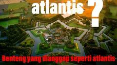 SEPERTI KOTA ATLANTIS BANGUNAN INDAH INI PENINGGALAN PERANG