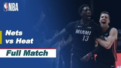 Full Match - Brooklyn Nets vs Miami Heat I NBA Reguler Season 2020/21