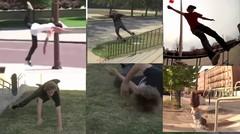 kumpulan video Skateboard gagal jangan di tiru