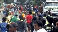 Bentrok Suporter Tangerang
