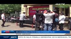 Belasan Remaja Pesta Sabu Ditangkap Polisi