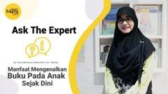 Smartmama: Ask the Expert: Manfaat Mengenalkan Buku Pada Anak Sejak Dini