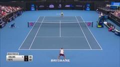 Match Highlight | Danielle Rose Collins 0 vs 2 M. Keys | WTA Brisbane International 2020