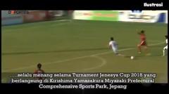 CHAMPION !!! Taklukan Vietnam 1-0, TIMNAS INDONESIA Juara JENESYS CUP 2018 !!!
