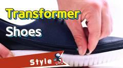 [Tech] Transformer shoes!