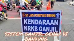 Sistem Ganjil Genap di Bandung Mulai Disosialisasikan