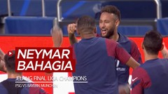 Bahagianya Bintang PSG, Neymar Jelang Final Liga Champions Melawan Bayern Munchen