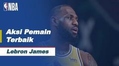 Nightly Notable | Pemain Terbaik 26 Januari 2021 - Lebron James | NBA Regular Season 2020/21