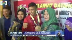 Pulang ke Surabaya, Karateka Rifki Ardiansyah Arrosyid Disambut Bak Pahlawan - Fokus