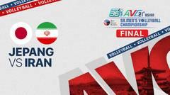 Full Match: Japan vs Iran | Final Asian Men's Volleyball Championship 2021