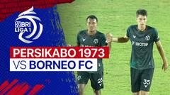 Mini Match - PERSIKABO 1973 3 VS 0 Borneo FC   BRI Liga 1 2021/2022