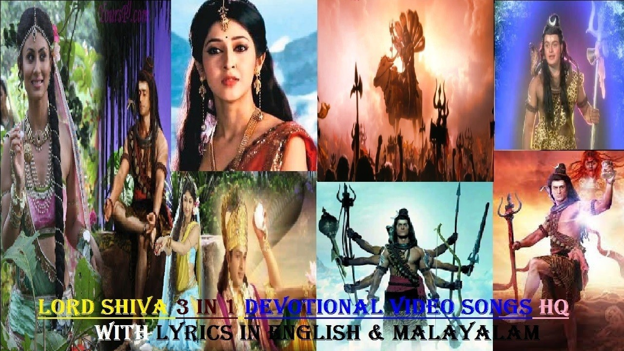 Lord Shiva Devotional Video Songs Malayalam with Lyrics (English &  Malayalam) by KJ Yesudas & Madhu Balakrishnan HQ ft Mahadev Stories