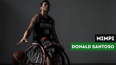 Donald Santoso dan Mimpinya untuk Olahraga Basket Kursi Roda Indonesia