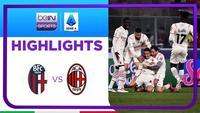 Match Highlights | Bologna 2 vs 4 AC Milan | Serie A 2021/2022