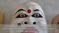 Tiga Topeng Lakon Humor Asli Cirebon Terancam Tinggal Kenangan