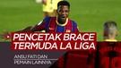 5 Besar Pencetak Brace Termuda Liga Spanyol, Wonderkid Barcelona Mendominasi