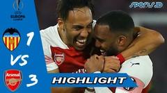 Arsenal vs Valencia 3-1  | Highlight & goals (03/05/2019)