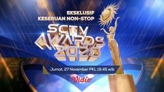 Saksikan Eksklusif Live Streaming Keseruan Nonstop SCTV Awards, 27 November 2020. Mulai Pkl. 19.45 WIB