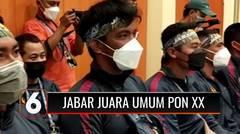 Juara Umum Usai Meraup 353 Medali di PON XX, Ridwan Kamil: Rp 300 M, Untuk Bonus !   Liputan 6