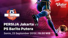 23 Sep 2019   15:00 WIB   PERSIJA Jakarta vs Barito Putera - Shopee Liga 1