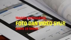 Pemuda Sebar Foto dan Video Syur Mantan Pacar karena Putus Cinta